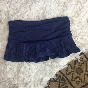 LANDS END swim skirt